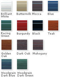 Garage Door Finishes